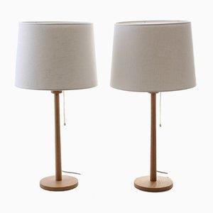 Lampade da tavolo di Uno & Östen Kristiansson per Luxus, anni '60, set di 2