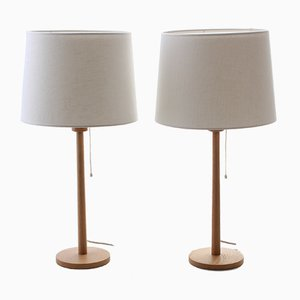 Table Lamps by Uno & Östen Kristiansson for Luxus, 1960s, Set of 2