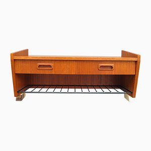 Skandinavisches Regal aus Teak, 1950er