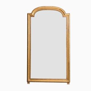 Miroir Antique avec Cadre en Bois Doré