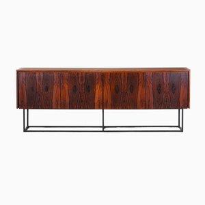 Credenza minimalista in palissandro, anni '60