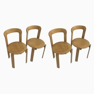 Dining Chairs by Bruno Rey Dietiker for Mobilier International, 1970s, Set of 4