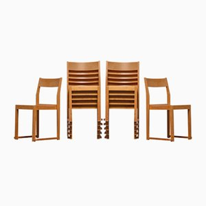 Swedish Stackable Dining Chairs by Sven Markelius, 1931, Set of 12