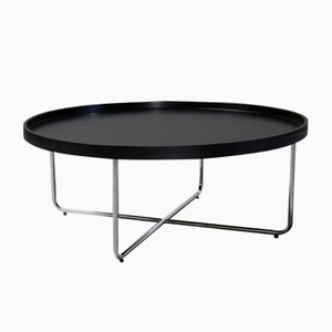 Round Vintage Coffee Table, 1970s