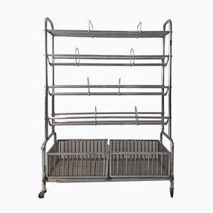 Industrial Chrome Towel Rack from ETS. Dumortier
