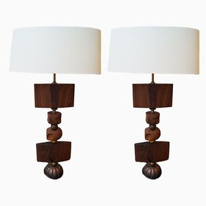 His and Hers Table Lamps by John Alfredo Harris