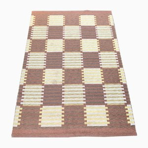 Mid-Century Swedish Rug by Carl Malmsten