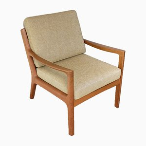 Danish Teak Senator Lounge Chair by Ole Wanscher for Cado, 1960s