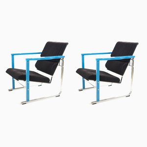 Lounge Chairs by Yrjo Kukkapuro for Avarte, 1983, Set of 2