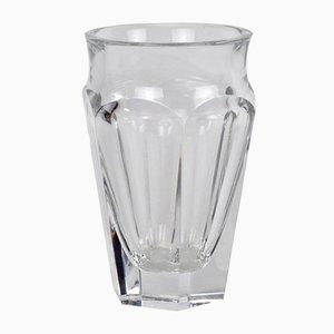 Nelly Vase aus geschliffenem Kristallglas von Baccarat, 1970er