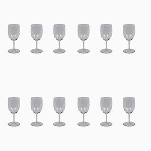 Perfection Red Wine Glasses from Baccarat, 1970s, Set of 12