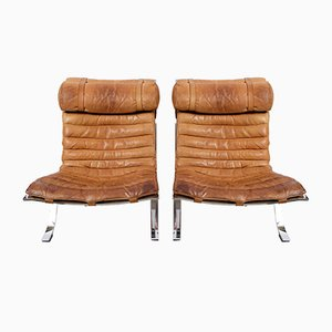 Mid-Century Lounge Chairs by Arne Norell for Arne Norell AB, Set of 2