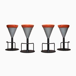 High Bar Stools from Wiesner Hager, 2007, Set of 4