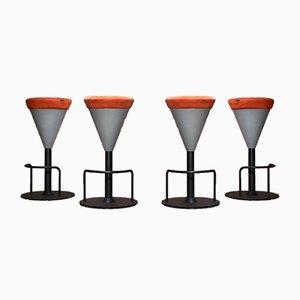 Taburetes de bar altos de Wiesner Hager, 2007. Juego de 4
