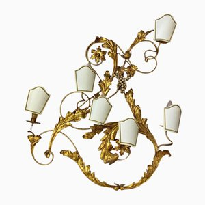 Wrought Iron Sconce, 1970s