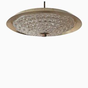 Messing Deckenlampe von Carl Fagerlund für Lyfa, 1960er