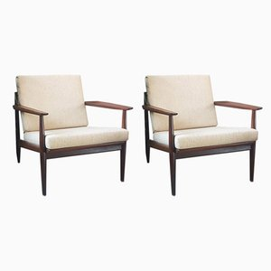 Scandinavian Lounge Chairs by Arne Vodder, 1960s, Set of 2