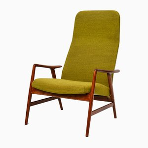 Mid-Century Lounge Chair by Alf Svensson for Maker Ljungs Industrier AB, 1950s