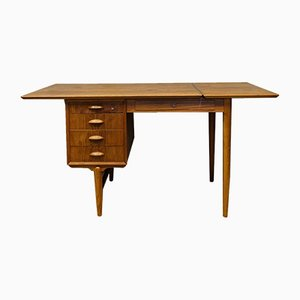 Mid-Century Danish Modern Teak Desk, 1960s