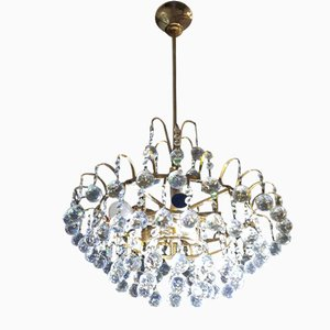 Swarovski Crystal Chandelier from Palwa, 1970s