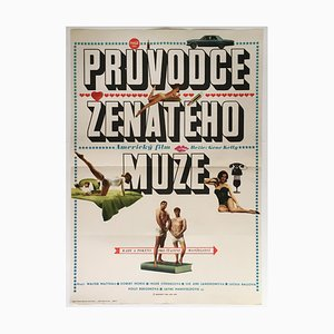 A Guide for the Married Man Movie Poster by Vasil Miovsky, 1969