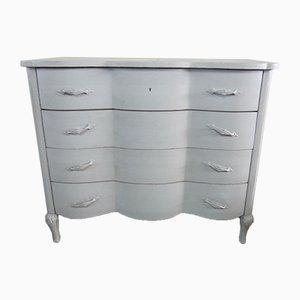 Vintage Gray Dresser, 1940s