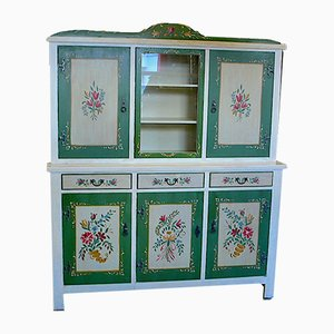 Rustic Kitchen Cabinet, 1940s