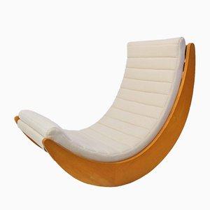 Sedia a dondolo Relaxer di Verner Panton per Rosenthal, anni '60