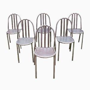 Chaises de Salle à Manger par Steven Halles, années 50, Set de 6