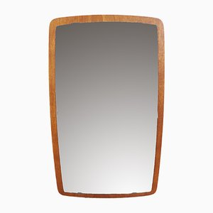 Mid-Century Swedish Teak Mirror from Nybrofabriken