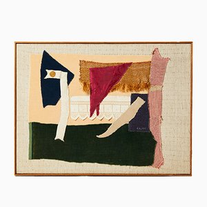 Swedish Wool and Cotton Tapestry by Sten Kauppi, 1970s