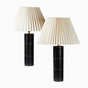 Swedish B-071 Table Lamps from Bergboms, 1950s, Set of 2