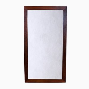 Large Mid-Century Rosewood Mirror from GT