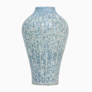 Jarrón sueco de cerámica de Gunnar Nylund para Rörstrand, años 40