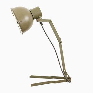 Vintage Militär Tischlampe, 1960er