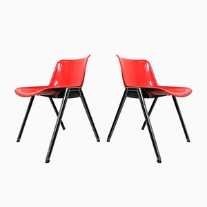 Modus Desk Chairs by Osvaldo Borsani for Tecno, 1970s, Set of 2
