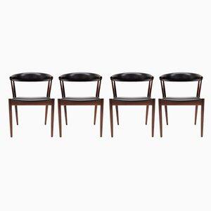 Rosewood BA113 Dining Chairs by Johannes Andersen for Brdr. Andersen Møbelfabrik, 1966, Set of 4