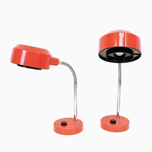 Mid-Century Table Lamps from Elidus, Set of 2