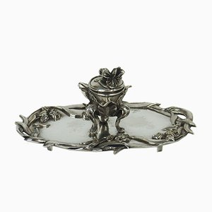 Antique Art Nouveau Inkwell by Vogt