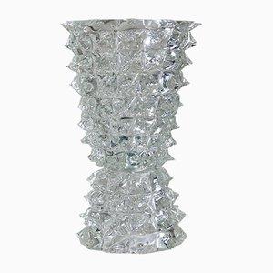 Italienische Vase aus Muranoglas, 1988