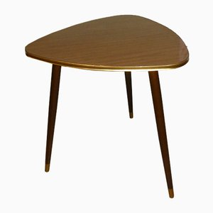Tavolino da cocktail in teak e formica, anni '60