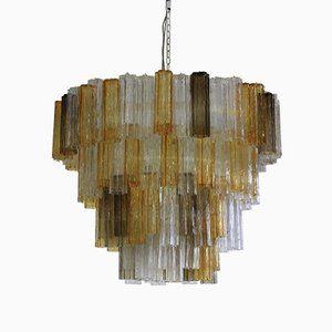 Large Murano Glass Chandelier, 1988