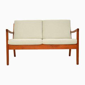 Dänisches Sofa mit Gestell aus Teak von Ole Wanscher für France & Son, 1960er