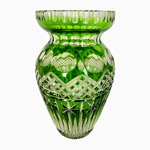Antique Green Vase