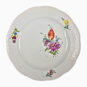 Antiker Teller von Meissen Porzellan
