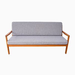 Teak Senator 3-Seater Sofa by Ole Wanscher for France & Søn / France & Daverkosen, 1960s