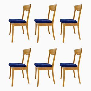 Vintage Danish Dining Chairs from JK Möbler, Set of 6