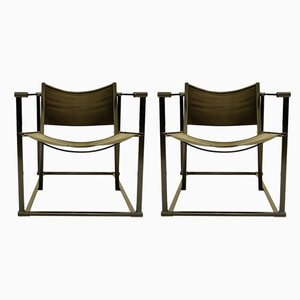 Model FM61 Cubic Chairs by Radboud Van Beekum for Pastoe, 1970s, Set of 2