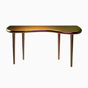 Andrienne Console Table in Chameleon Lacquer by Philippe Cramer