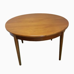 Vintage Teak Dining Table, 1950s